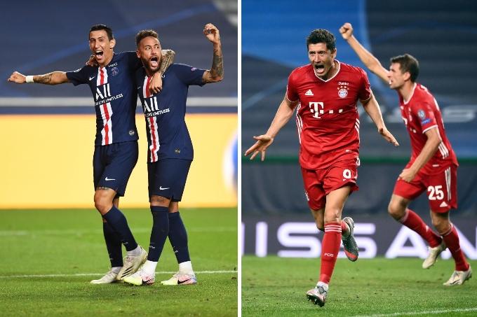 «Бавария» 11 рет, ПСЖ алғаш рет финалда