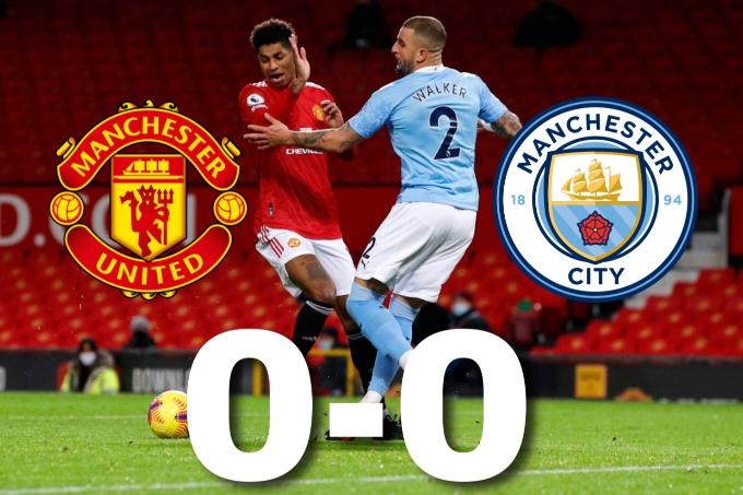 """""""Манчестер Юнайтед"""" пен """"Манчестер Сити"""" соңғы үш жылда алғашқы рет тең ойнады"""
