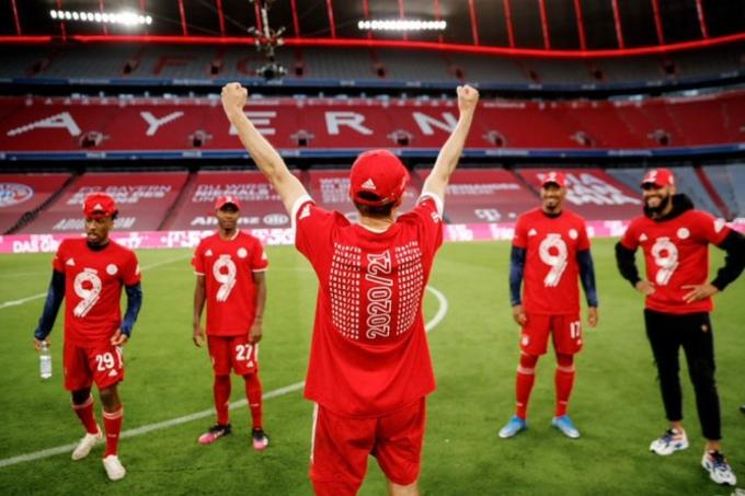 «Бавария» тоғызыншы маусым қатарынан Германия чемпионы атанды