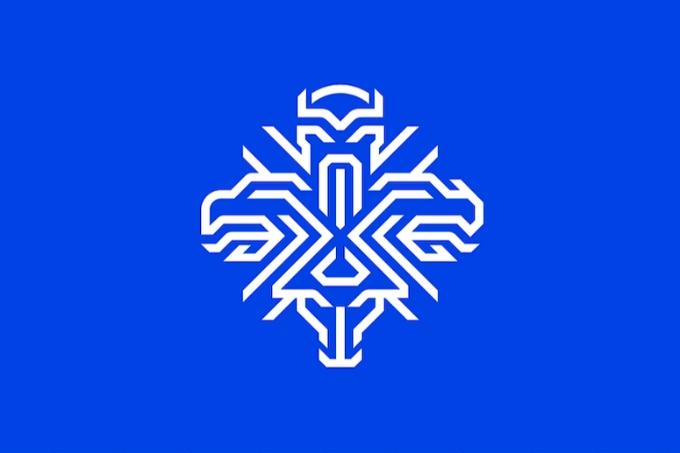 Исландия құрамасының жаңа логотипінде рухтар бейнеленген