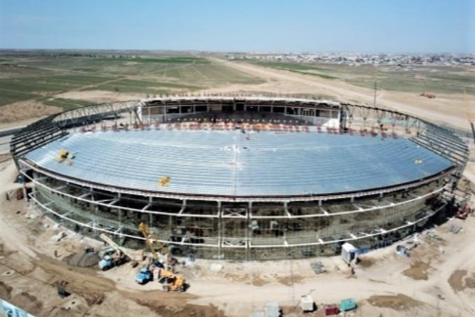 Түркістандағы стадионға кімнің есімі беріледі?