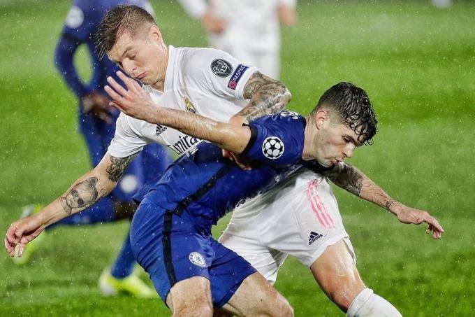 «Реал Мадрид» пен «Челси» арасындағы алғашқы кездесу тең есеппен аяқталды