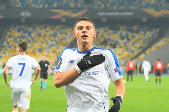 Украина құрамасының қорғаушысы «Манчестер Юнайтедтің» назарына ілікті