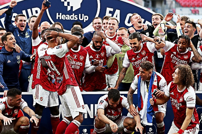 «Арсенал» - Англия Кубогының жеңімпазы