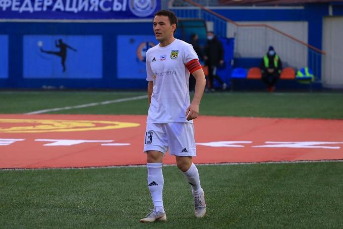 Азат Нұрғалиев - «Тобыл» сапында ең көп матч өткізген төртінші ойыншы