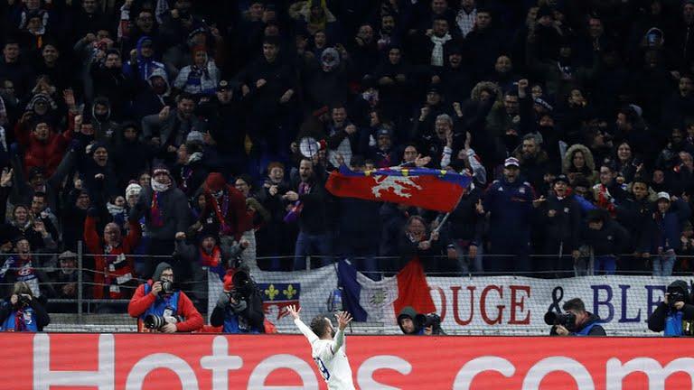 «Лион» араға 8 жыл салып, Чемпиондар лигасының плей-офф кезеңінде жеңіске жетті
