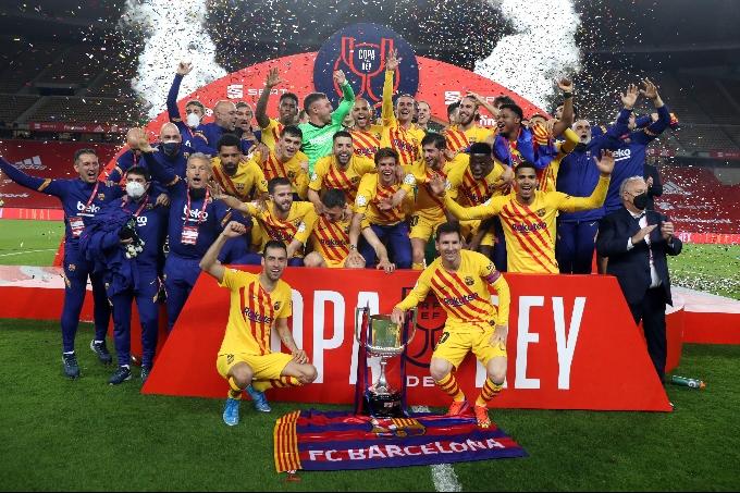 «Барселона» - Испания Кубогінің иегері