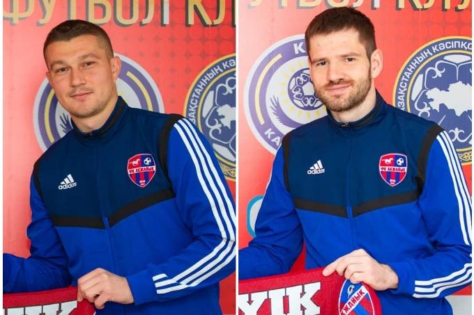 «Ақжайық» екі украиналық футболшымен толықты
