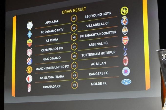 Еуропа Лигасының 1/8 финалының жеребе нәтижелері белгілі болды