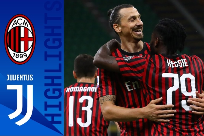 Милан - Ювентус 4-2