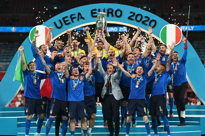 Италия Еуропа чемпионы атанды